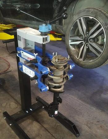 airdrie strut spring compressor